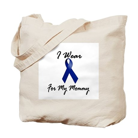 I Wear Blue For My Mommy 1 Tote Bag