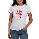 Japanese Samurai Kanji (Front) Women's T-Shirt