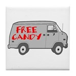Free Candy Tile Coaster