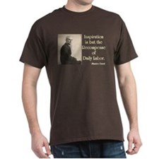 Maurice Ravel Inspiration and Labor T-Shirt
