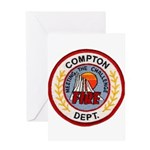 Compton FD Greeting Card