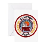 Compton FD Greeting Cards (Pk of 10)