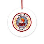 Compton FD Ornament (Round)