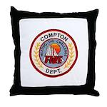 Compton FD Throw Pillow