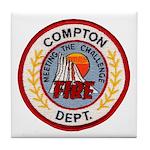 Compton FD Tile Coaster