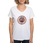 Compton FD Women's V-Neck T-Shirt