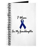 I Wear Blue For My Granddaughter 1 Journal