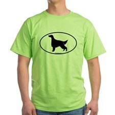 Oval Irish Setter T-Shirt
