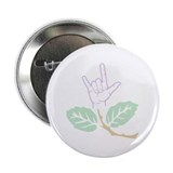 "ASL Purple Flower 2.25"" Button (10 pack)"