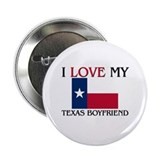 "I Love My Texas Boyfriend 2.25"" Button (10 pack)"
