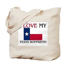 I Love My Texas Boyfriend Tote Bag