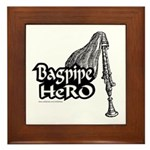 BAGPIPE HERO Framed Tile