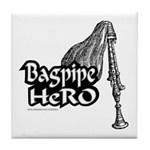 BAGPIPE HERO Tile Coaster
