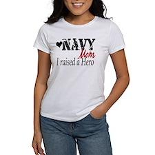 Navy Raised Hero Tee