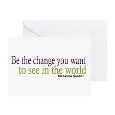 Gandhi Quote Greeting Card