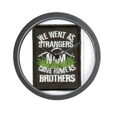 """NAM"", Came Home Brothers.. Wall Clock"