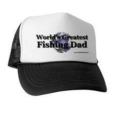 """Greatest Fishing Dad"" Trucker Hat"