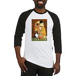 Kiss/Tri Color Sheltie Baseball Jersey
