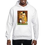 Kiss/Tri Color Sheltie Hooded Sweatshirt