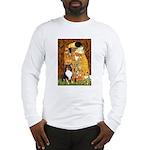 Kiss/Tri Color Sheltie Long Sleeve T-Shirt