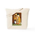 Kiss/Tri Color Sheltie Tote Bag