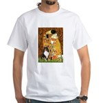 Kiss/Tri Color Sheltie White T-Shirt