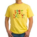 Best Daddy Yellow T-Shirt