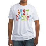 Best Daddy Fitted T-Shirt