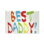 Best Daddy Rectangle Magnet (100 pack)