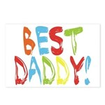 Best Daddy Postcards (Package of 8)