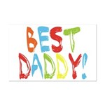 Best Daddy Mini Poster Print
