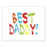 Best Daddy Small Poster