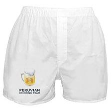 Peruvian Drinking Team Boxer Shorts