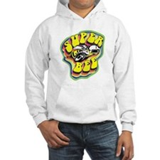 70'S Super Bee Distressed Hooded Sweatshirt