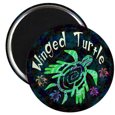 Winged Turtle Magnet