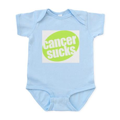 CANCER SUCKS Infant Creeper