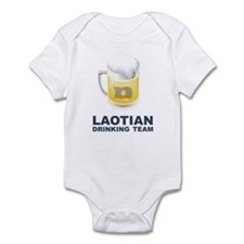 Laotian Drinking Team Infant Bodysuit