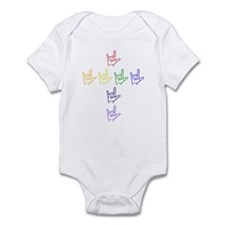ASL Rainbow Cross Infant Bodysuit