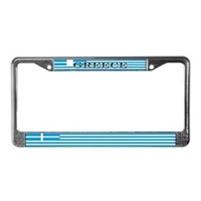 Greece Greek Flag License Plate Frame