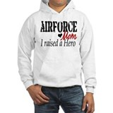 Airforce Raised Hero Hoodie Sweatshirt