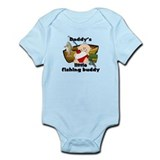 Daddy's Fishing Buddy B Onesie