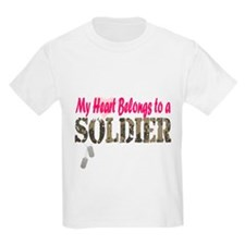 Heart Belongs to Soldier T-Shirt