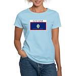 Guam Guaminian Flag Women's Pink T-Shirt