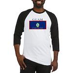 Guam Guaminian Flag Baseball Jersey