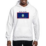 Guam Guaminian Flag Hooded Sweatshirt