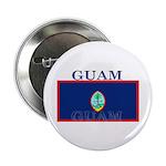 Guam Guaminian Flag Button