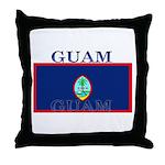 Guam Guaminian Flag Throw Pillow
