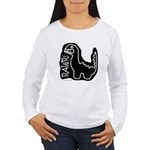 RAWR DINO Women's Long Sleeve T-Shirt