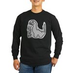 RAWR DINO Long Sleeve Dark T-Shirt