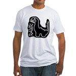 RAWR DINO Fitted T-Shirt